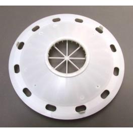 Support filtre mousse blanc de couvercle