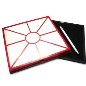 Kit AEROGUARD comprenant : 1 filtre Hepa, 1 filtre Carbon, 1 lampe U,V