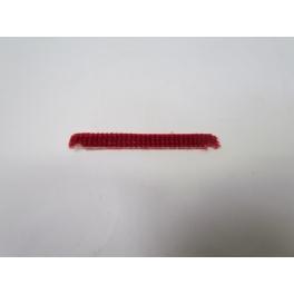 Lamelle anti statique rouge pour brosse sols
