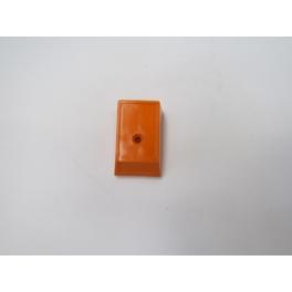 Cache connections Rotule pour brosseur ZE3 orange