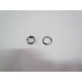 Ecrou + rondelle de fixation bobine pour oko 3000 et oko 8000.